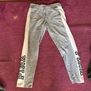 Victorias secret PINK tie waist joggers (Medium)